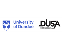 University of Dundee and DUSA logos