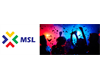 MSL logo with image of students celebrating at event