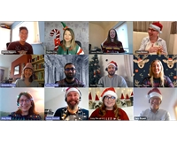 Picture of the MSL team feeling festive online