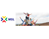 MSL newsletter banner with new logo and group of students outdoors