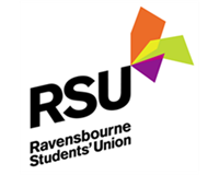 Ravensbourne Students' Union logo