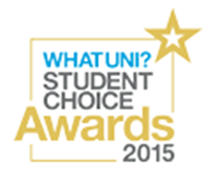 The Whatuni Student Choice Awards 2015 logo